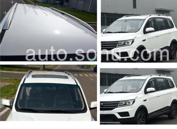 斯威第二款SUV斯威X3谍照曝光 预计售6-8万