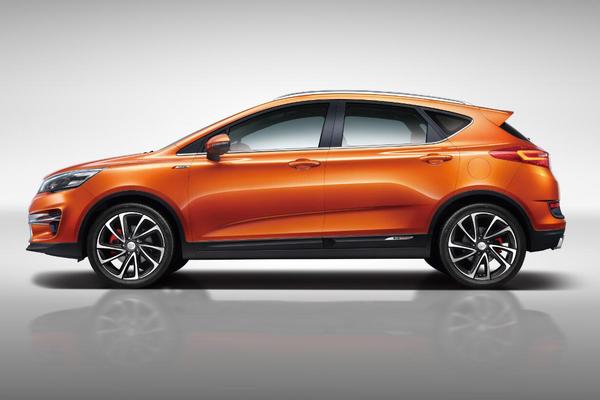 【帝豪GS运动版】   帝豪GS市场定位为城市跨界SUV,基于吉利全新FE平台打造,与博瑞、博越同属吉利第三代产品。从市场角度来看,帝豪GS拥有年轻化设计,是吉利拓展年轻消费市场重要车型。吉利帝豪GS分为优雅版、运动版两款车型,其中运动版前脸格栅更突出运动特性,后排气也运用双边共两出扁口设计;而优雅版车型前保险杠配备LED日间行车灯,后排气布局运用双边共两出方口样式。