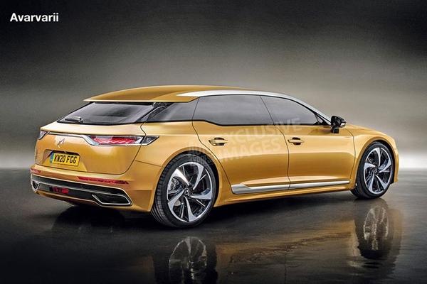 DS旗舰车型DS 8假想图曝光 2020年前发售