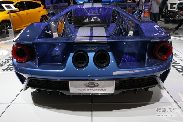福特 GT 实拍 外观 图片