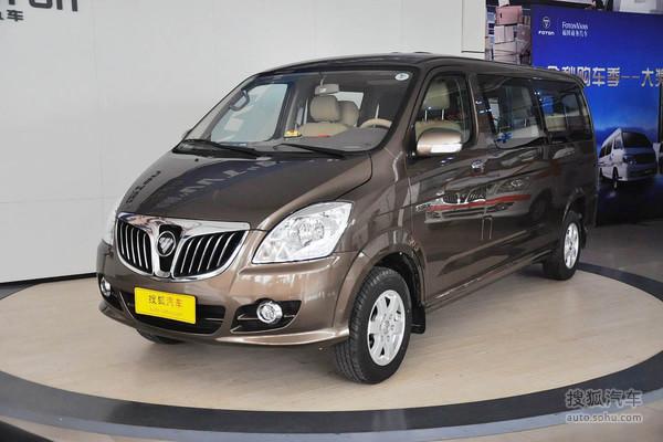 蒙派克mpv在动力上进行了全新升级,其汽油版产品搭载了福田高清图片