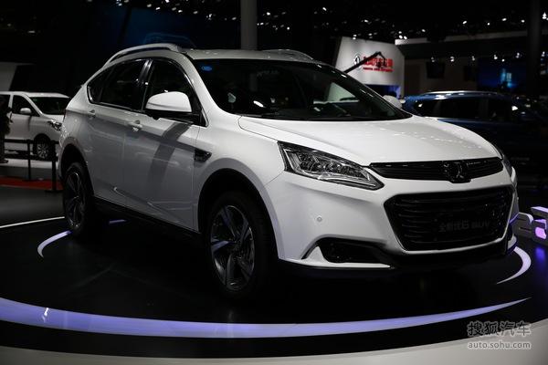 纳智捷优6 SUV上海车展实拍