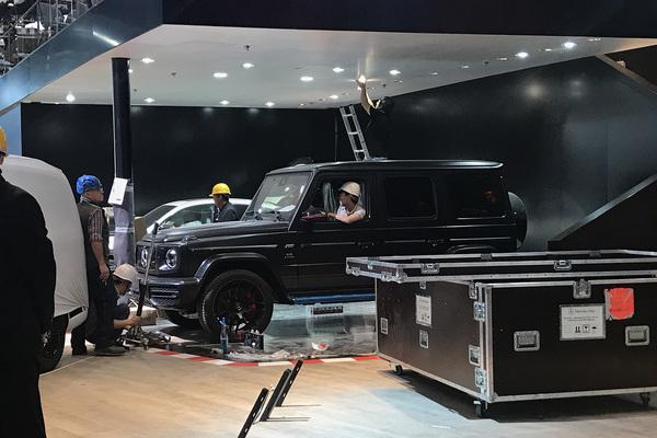 2018北京车展探馆:奔驰全新一代G级