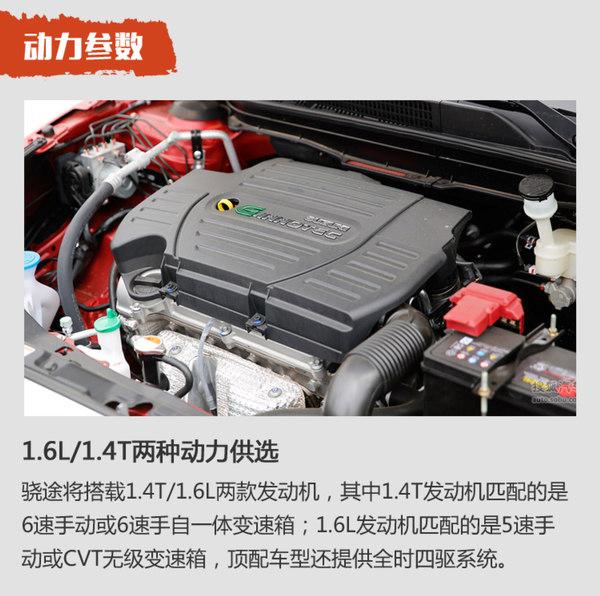 首推1.6L CVT两驱进取型 铃木骁途全系导购
