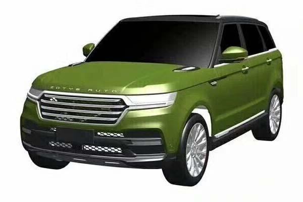 众泰全新SUV专利图曝光