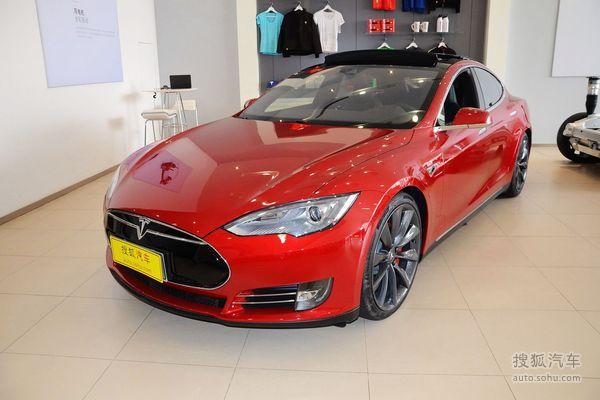 Tesla Model S 实拍 外观 图片