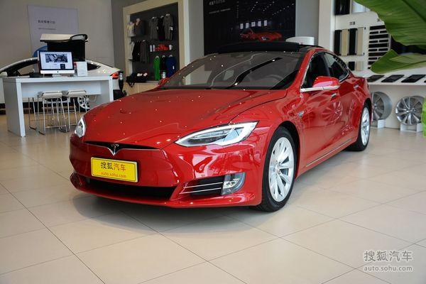 特斯拉 Model S 实拍 外观 图片