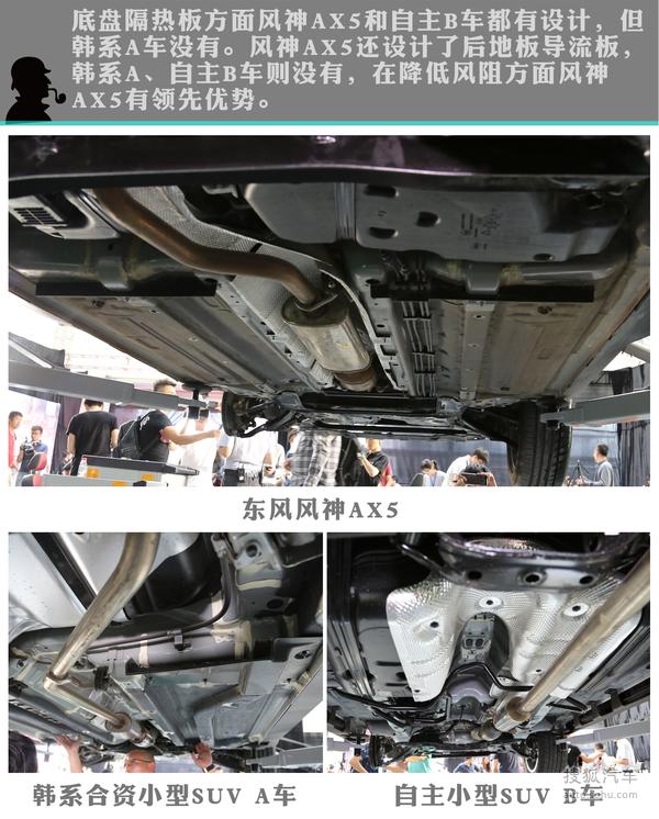 东风风神AX5拆解实验图