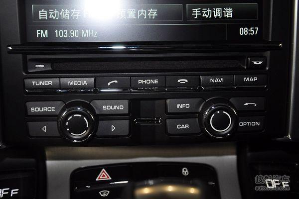 保时捷cayenne的空调控制面板