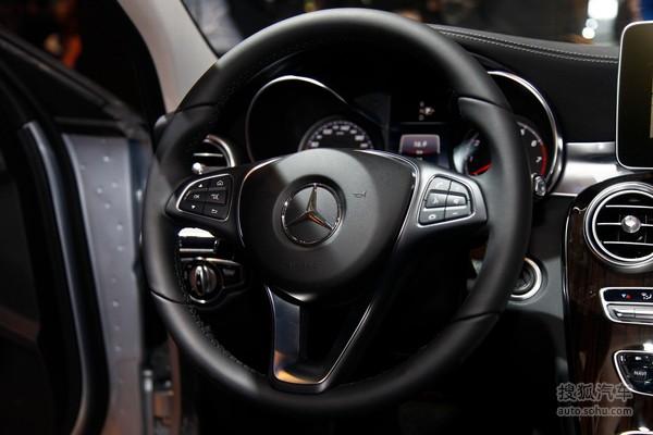 奔驰C级长轴距 北京车展实拍