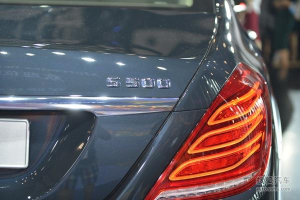 奔驰迈巴赫S500 4MATIC成邑车展实拍