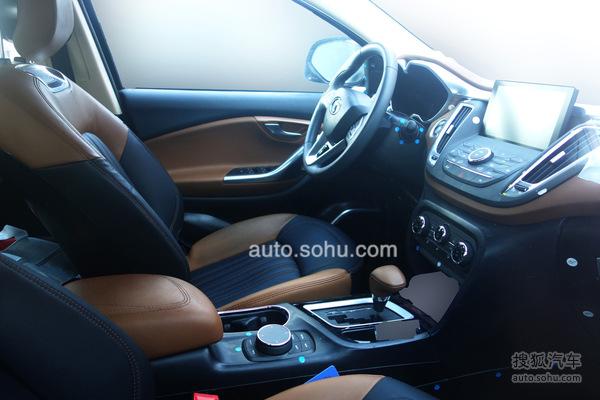 东南汽车DX7博朗最新谍照曝光 7月正式上市