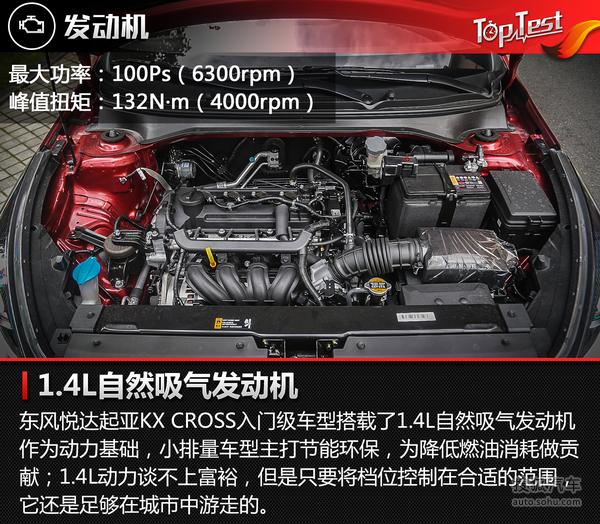 试东风悦达起亚KX CROSS 1.4L图片