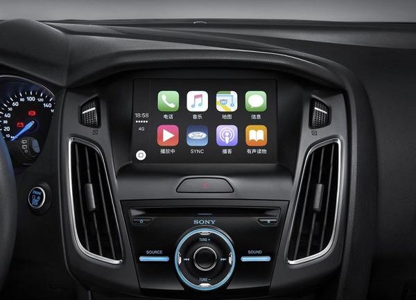 新款福克斯官图曝光 新增CarPlay系统