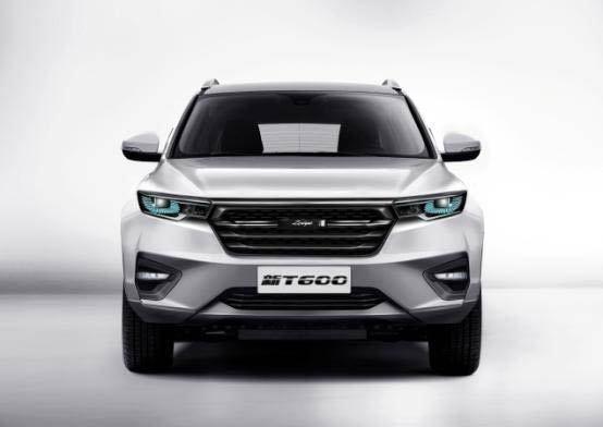 新款众泰T600官图发布 有望2018年中上市