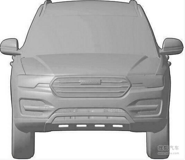 哈弗全新SUV首曝 配2.0T动力/或为换代H5