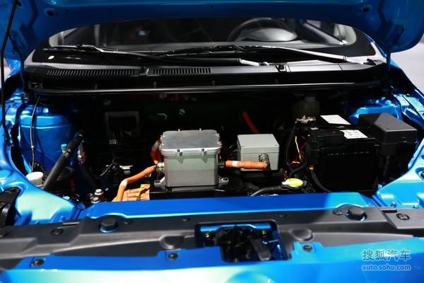 上海车展 华晨中华EV电动车将正式发布高清图片