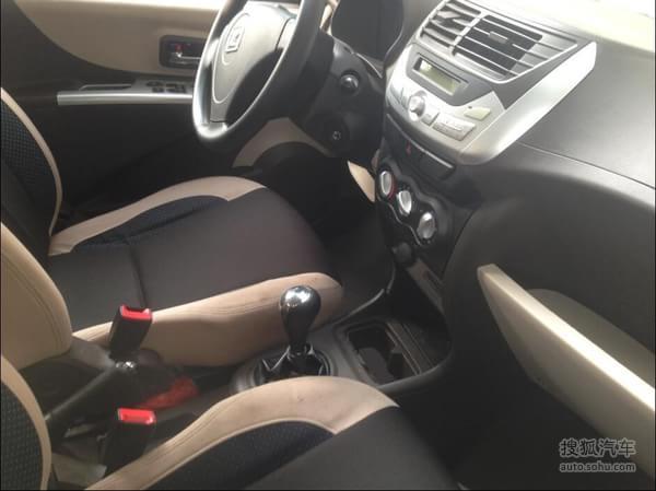 众泰Z100电动车自动挡车型首曝