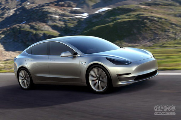 特斯拉 Model 3 实拍 图解 图片