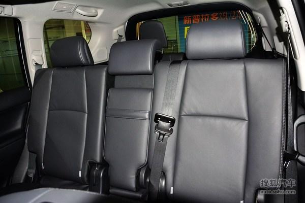 丰田普拉多的后排座椅怎么样?