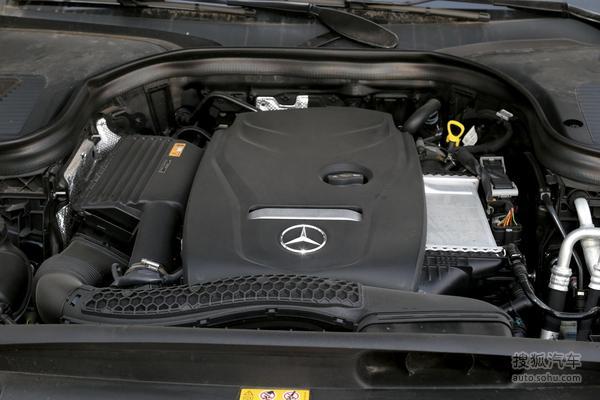 奔驰 GLC级 实拍 底盘/动力 图片