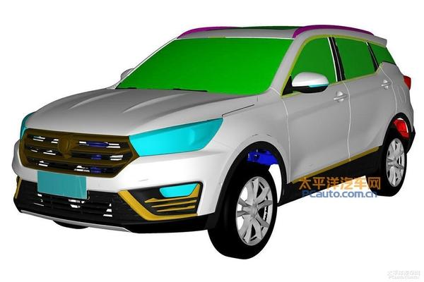 汉腾新紧凑型SUV专利图曝光 2017年推出