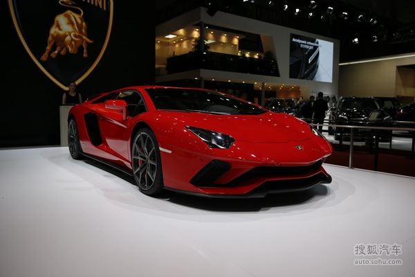 兰博基尼 Aventador 实拍 外观 图片