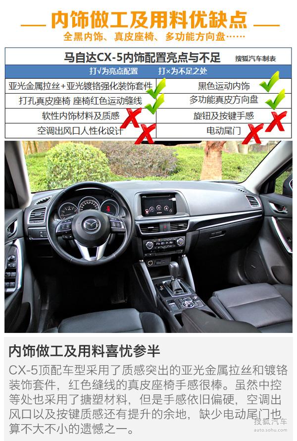 马自达 CX-5 实拍 图解 图片