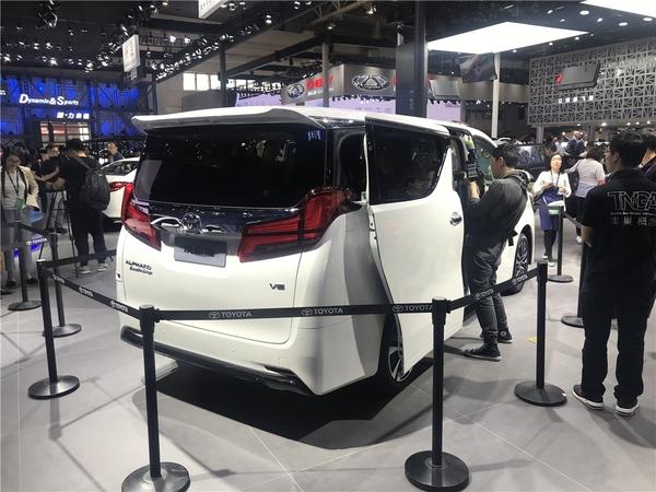 2018北京车展:新款埃尔法首次入华