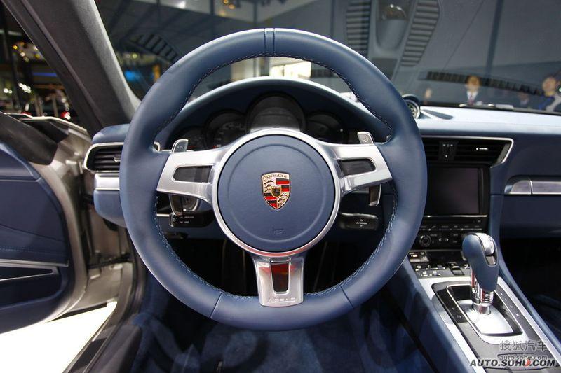 保时捷 保时捷汽车 911 全新保时捷911 carrera s 广州车展高清图片