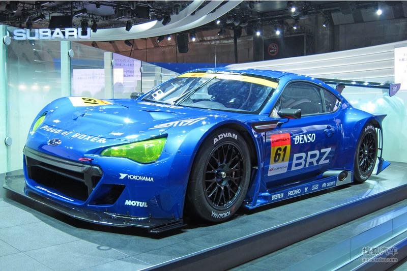 斯巴鲁 斯巴鲁汽车 brz 斯巴鲁brz gt300 racecar东京车展实高清图片