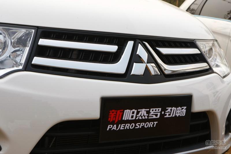 三菱广汽三菱帕杰罗劲畅2013款帕杰罗劲畅试乘体验 高清图片