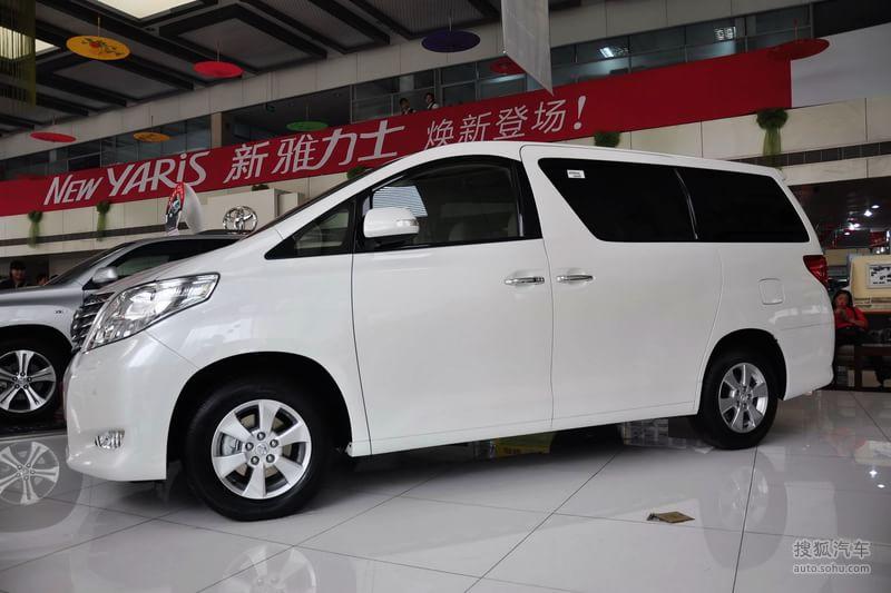 丰田 进口丰田 埃尔法 2011款丰田alphard 3.5l自动7座高清图片