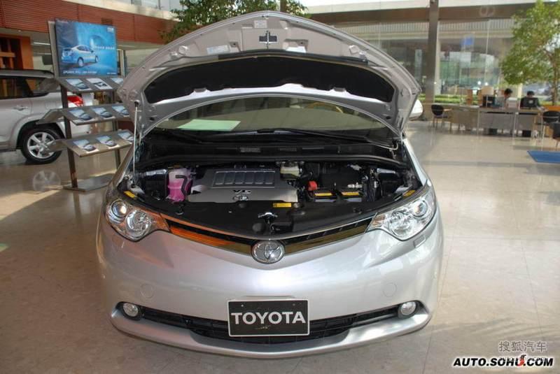丰田进口丰田普瑞维亚普瑞维亚实拍高清图片