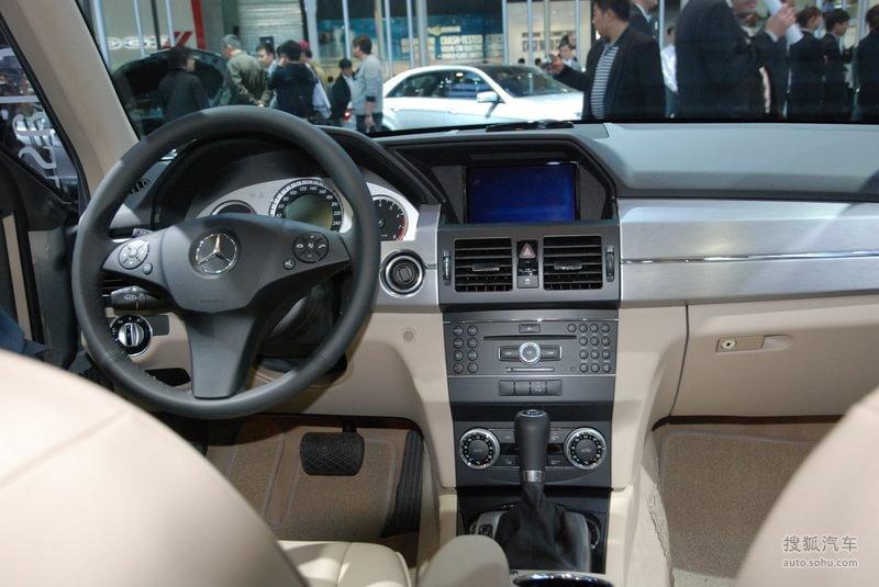 奔驰进口奔驰glk级 进口 奔驰glk300 上海车展实拍 高清图片