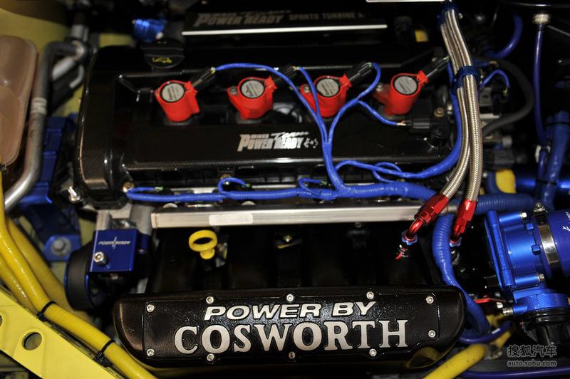 福特长安福特福克斯两厢福特福克斯 雅森改装车展实拍 高清图片