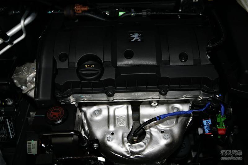 标致307两厢2010款1.6l 手动 豪华版底盘 动力金属灰m818874图片 图库高清图片