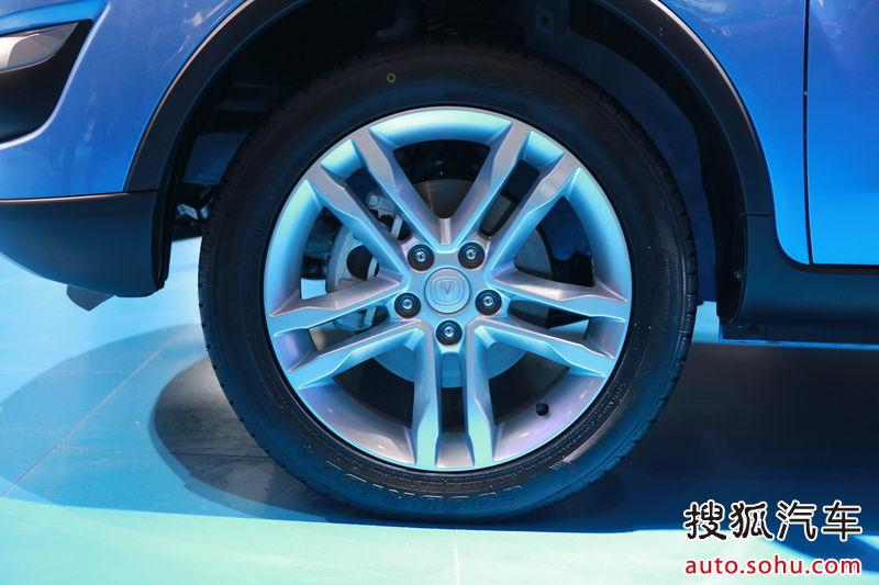长安 长安汽车 cs35 长安cs35 北京车展实拍