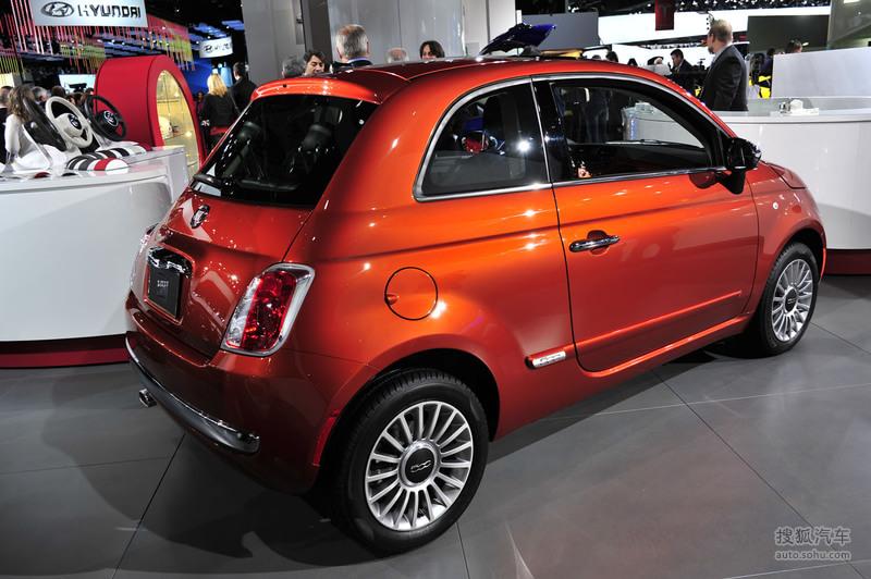 菲亚特菲亚特汽车500菲亚特500 北美车展实拍高清图片