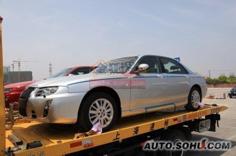 上海牌上海汽车电动车上海牌世博会专用燃料电池轿车