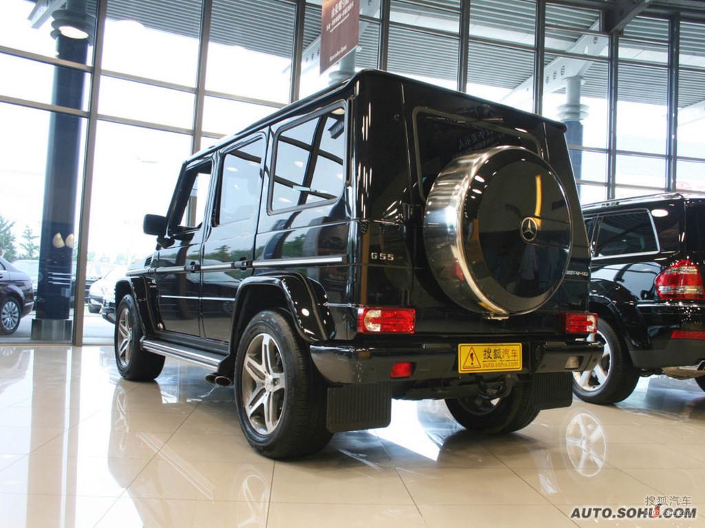 奔驰g级amg2009款g55 amg外观g308886图片 图库高清图片