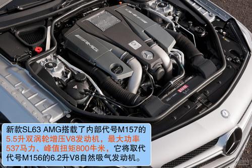 奔驰 SL级AMG 实拍 图解 图片