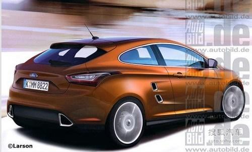 2012年正式亮相 福特双门新车Capri曝光