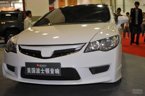 美国波士顿汽车音响首次参加上海改装展