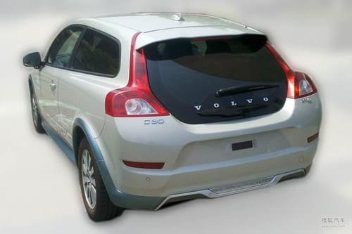沃尔沃C30电动版亮相 预计将2013年量产