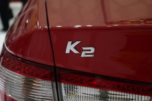 起亚 K2 实拍 外观 图片