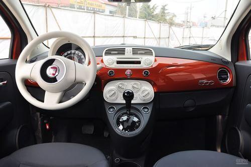 2011款菲亚特500 1.4LPop时尚版到店实拍
