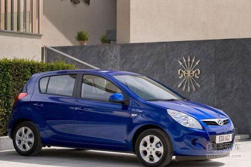 约合13.6万元起 现代i20 Blue海外已开售