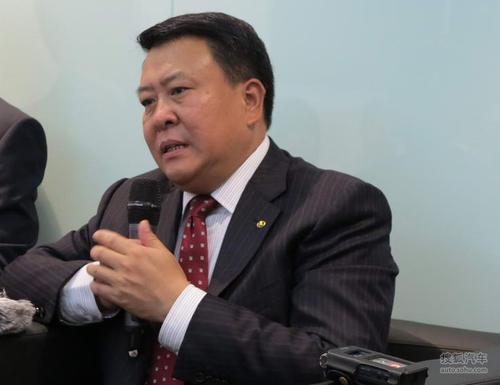北汽集团董事长 徐和谊