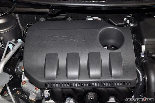 2011款日产阳光1.5XE CVT尊贵版 到店实拍